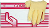 Medical latex gloves Textured Comfort PF (Mercator Medical), 100p. - $ 2.64