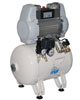 Dental oil-free compressor 30/10 S Genesi Line (MGF Compressors), on 2 plants, capacity 120 l / min at 5 bar, the receiver 30 l, 72 dB noise level, power 1.125 kW - $ 1013.37