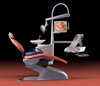 Dental unit Smile Sympatic 04 E (Chirana Medical), top feed, patient chair SK1 - $ 8917.96
