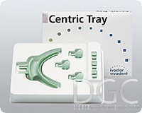 Centric Tray (Ivoclar Vivadent), № 559166, Trey teats. set to determine the centric by BPS-nutrient system prosthetics; addition to the system of biofunctional prosthetic jaw relationship is determined by the central - $ 58.71