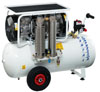 Compressor oil-free dental Extreme Dental 90 L 2,50 CV with a desiccant (Nardi Compressori), capacity 200 l / min at 5 bar, the receiver 90l, 73 dB noise level, power 1.90 kW - $ 2621.12