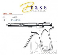 Jeringa intraligamentarnaya Brass Series (Falcon), DA.060.180, 1,8 ml Pistola-Ject. - $ 9.03