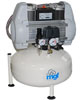 Dental oil-free compressor 24/10 S Genesi Line (MGF Compressors), on 2 plants, capacity 120 l / min at 5 bar, the receiver 24 l, 72 dB noise level, power 1.125 kW - $ 976.74