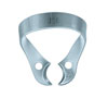 Clamp for the rubber dam (KSK), № 22, clamp to the upper and lower molars with flat cheeks analogue number 207, but without wings - $ 2.53