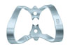 Clamp for the rubber dam (KSK), № 211, clamp butterfly universal for labial cavities on the front teeth - $ 2.53