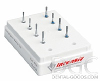 Set of burs Amalgam Prep Set Ref № 006 (Intensiv), set for treating cavities for all types of restorations, 8 pcs. - $ 14.61