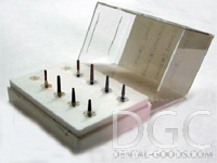 Set of burs McLean Set Ref № 077 (Intensiv), set for dissection cavities, 8 pcs. - $ 17.24