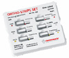 Set strips Ortho-Strips One-Sided Set Ref № 064 (Intensiv), a set of one-sided metal strips for proximal works and polishing system (EVA), 6 pcs. - $ 54.80