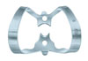 Clamp for the rubber dam (KSK), № 6, clamp butterfly for labial cavities - $ 2.86
