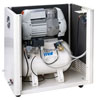 Compressor oil-free dental CS 30/7 S Prime with acoustic cabinet (MGF Compressors), 2 installation, performance, 105 l / min at 5 bar, the receiver 30 l, 61 dB noise level, power 0.75 kW - $ 1868.02