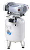 Dental oil-free compressor 50/15 S Prime (MGF Compressors), 3 installation, capacity 200 l / min at 5 bar, 50 l receiver, noise 73 dB, 1.5 kW - $ 1697.09