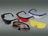 Goggles yellow (Dochem Industries Co., Ltd.), With wide transparent braces - $ 1.24