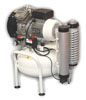 Compressor oil-free dental Extreme 2V 25 L 1,50 CV without dehumidifier (Nardi Compressori), the performance of 125 l / min at 5 bar, the unit 25L, 71 dB noise level, power 1.10 kW - $ 797.73